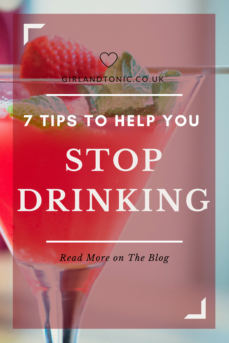stop drinking help