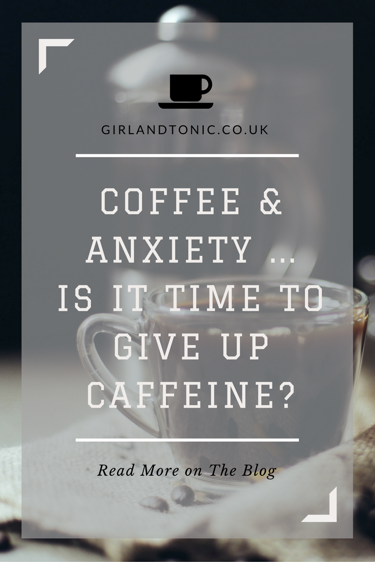 coffee and anxiety