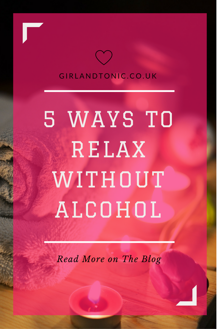 relax without alcohol