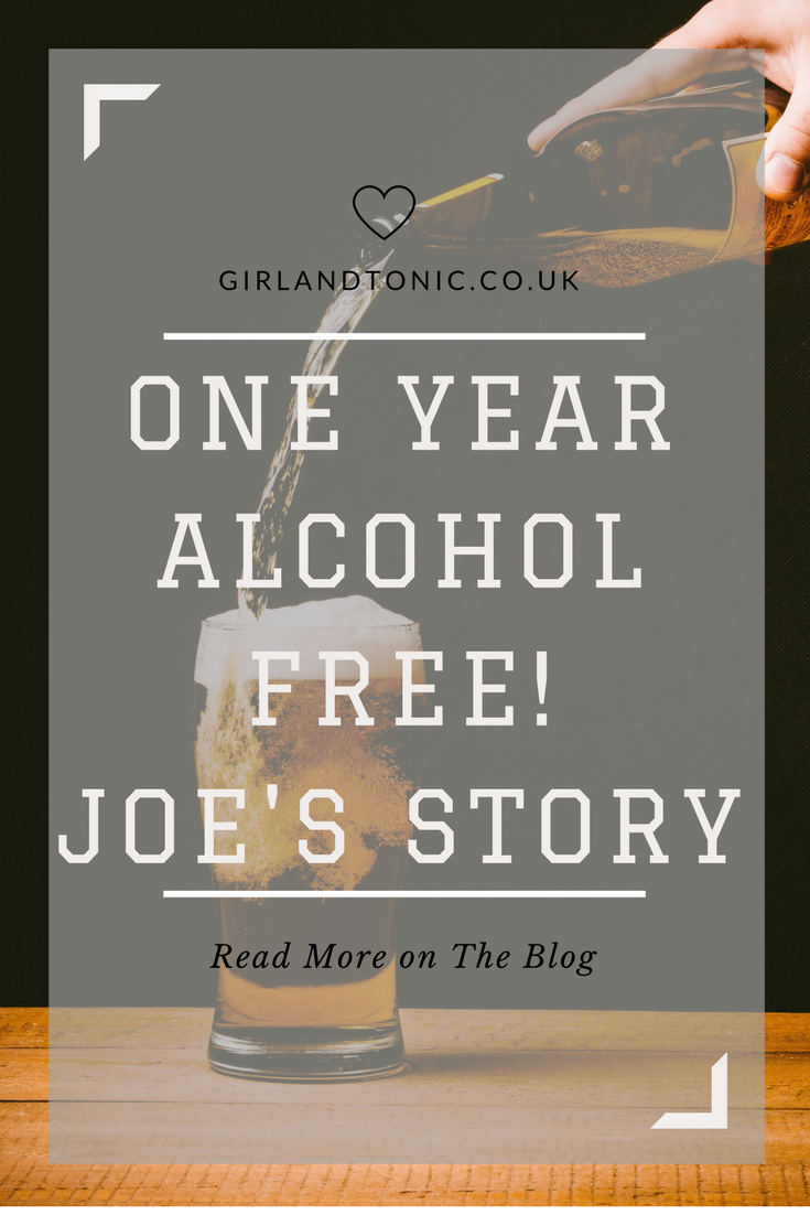One Year Alcohol Free