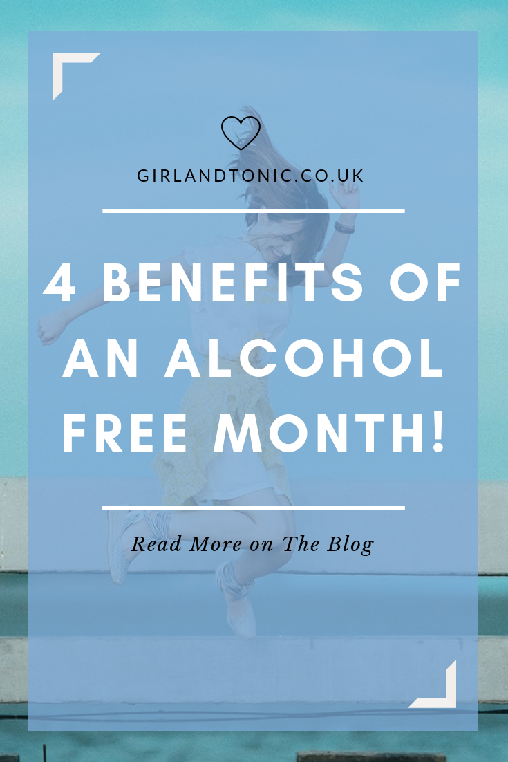 benefits alcohol free month