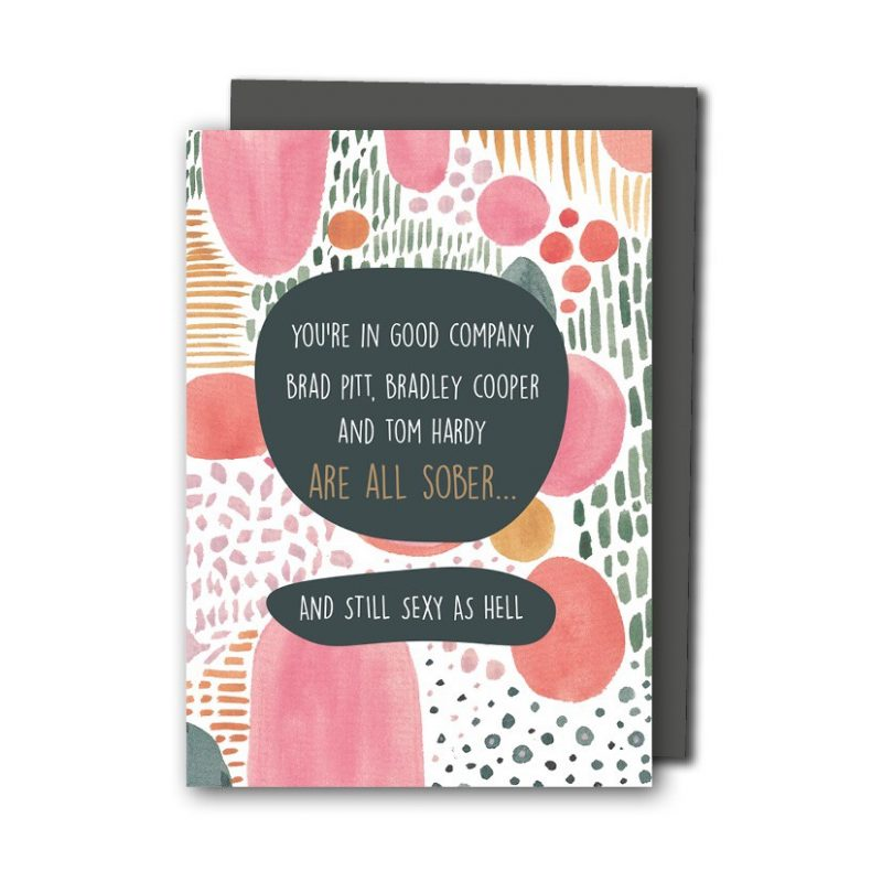 Looking For Sober Greeting Cards Meet We Are In Good Co